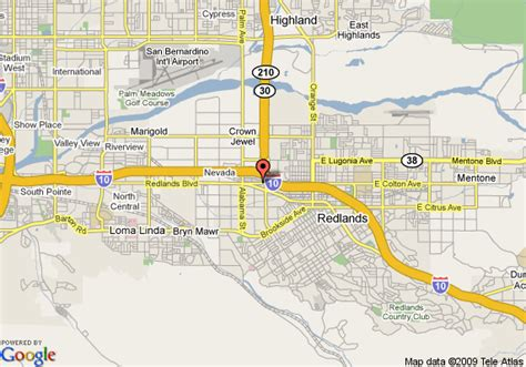 california map redlands map of dynasty suites redlands redlands