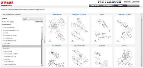 Katalog Sparepart Yamaha cari tahu part dan aksesoris yamaha endi suwitno