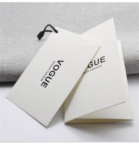 Hangtag Tag Label Two yilucai garment hang tag manufacturer paper hang tag