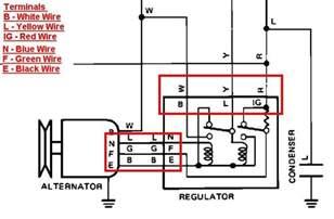 1983 toyota change the alternator three wires voltage