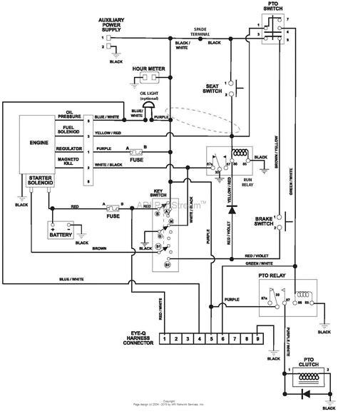 poulan wiring schematics wiring diagrams