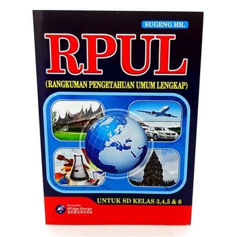 buku rpul rangkuman pengetahuan umum lengkap pusaka dunia