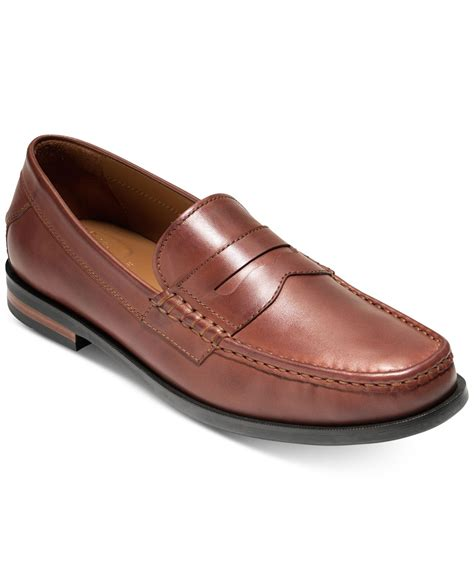 cole hahn loafers cole haan s pinch friday contemporary loafers in brown