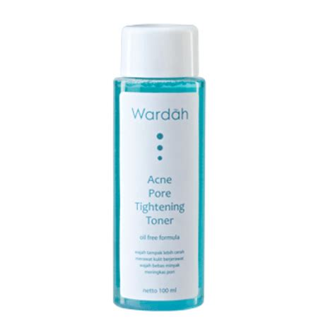 Wardah Shine 4 5 Ml wardah inspiring acne pore tightening toner