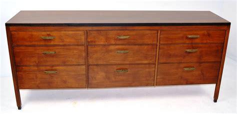 9 Drawer Dresser by Mid Century Nine Drawer Dresser For Sale At 1stdibs
