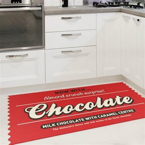 tapie de cuisine tapis de cuisine chocolate cadeau maestro