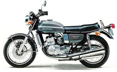 Suzuki Gt750 Suzuki Gt750 Model History