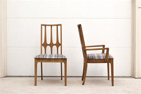 Broyhill Brasilia Dining Chairs Broyhill Brasilia Plaid Dining Chairs