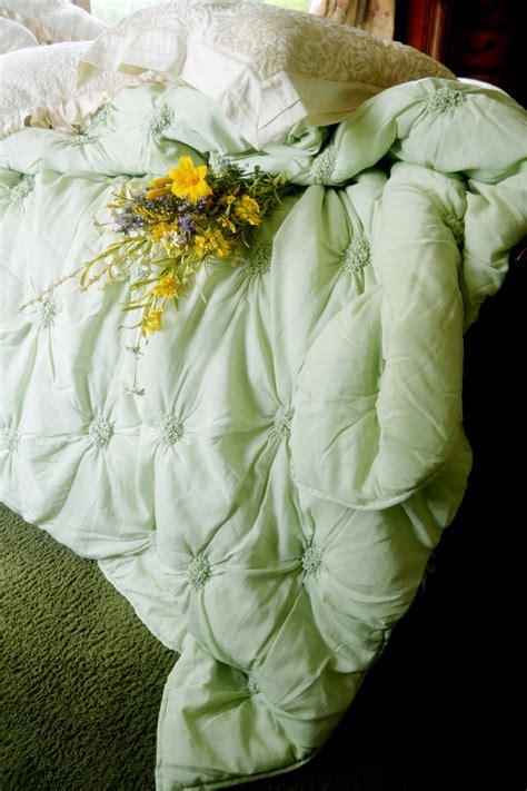 lombardi smocked coverlet soft surroundings lombardi smocked coverlet sage queen