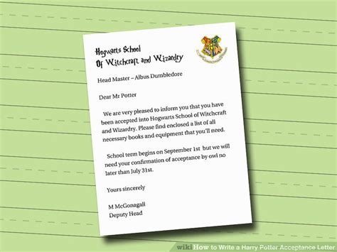 Hogwarts Acceptance Letter India Harry Potter Acceptance Letter Envelope Ideas Harry Potter Paraphernalia The Letters