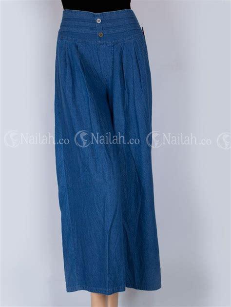 celana kulot zahirah rp 105 000 00 celana kulot dengan bahan jins untuk acara casual