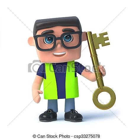 safety man clip art stock illustrations of 3d health and safety man holding a