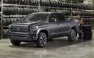 Toyota Tundra Cer 2018 Toyota Tundra Gets A Mild Facelift And A Trd Sport