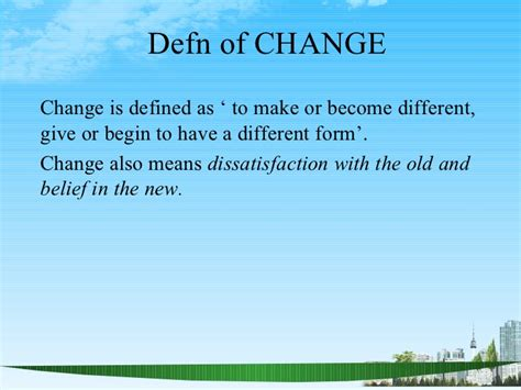Is Mba Needed To Become A Manager by Change And Knowledge Management Ppt Bec Doms Mba