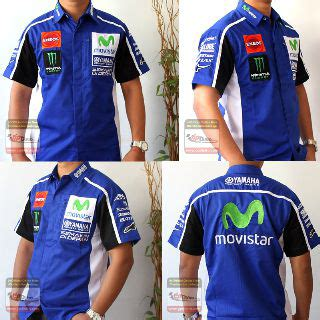 T Shirt Kaos Ktm Racing Team kemeja yamaha movistar blue distro kaos motogp ducati