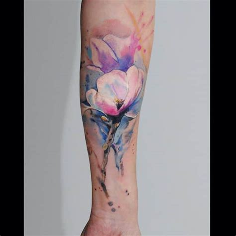 36 beautiful watercolor tattoos from the world s finest