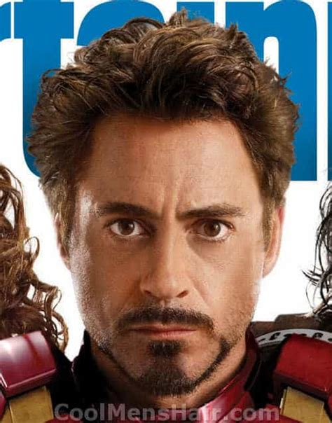 tony stark hair style the tony stark goatee how to do and maintain it cool