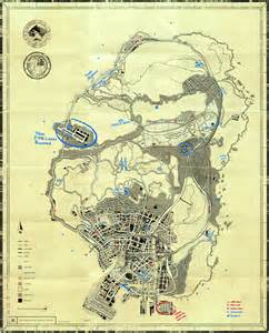 Gta v t p e blueprint map secrets