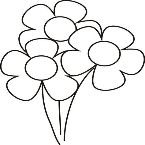 imagenes niños para dibujar elegante dibujos de flores para colorear faciles