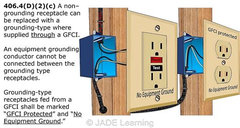 wiring gfci outlet without ground wire wiring diagram