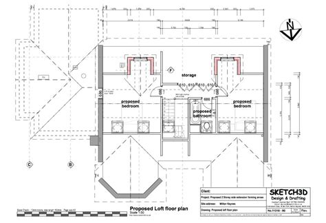 loft conversion floor plans exle granny annex plans two storey side extension and