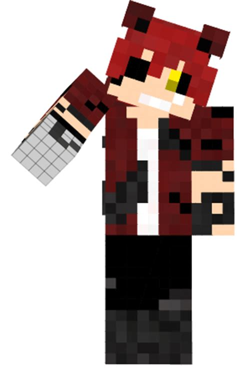 Pdf Five Nights At Minecraft Skins by Five Nights At Freddy S Foxy Skin