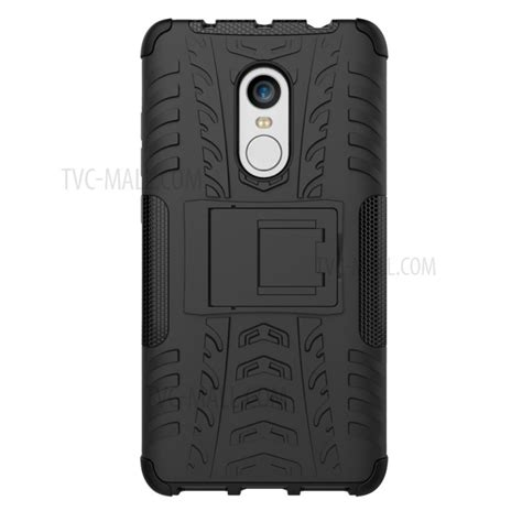 Tpu Anti Redmi Note 4 anti slip pc tpu hybrid with kickstand for xiaomi
