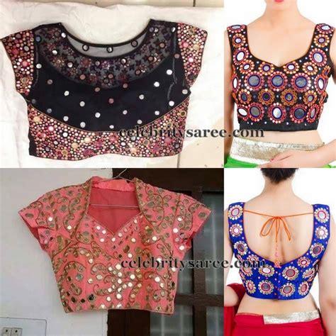 blouse pattern works mirror work blouse designs saree blouse patterns