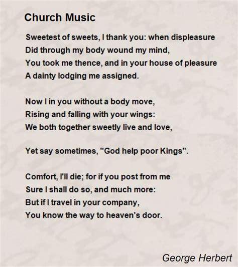 church poem by george herbert poem