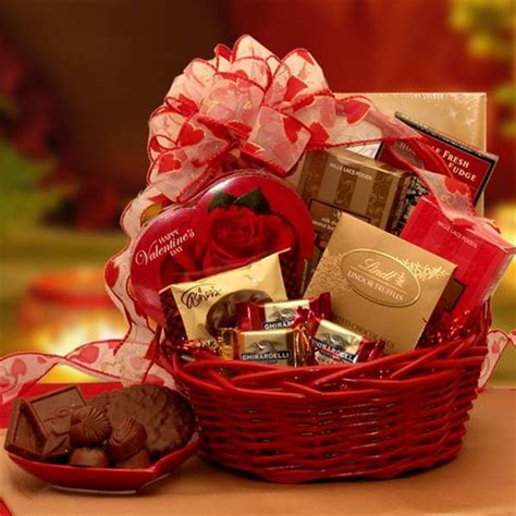 Valentines Gifts For Everyone Decadent Chocolates by Chocolate Inspirations Gift Basket Valentines