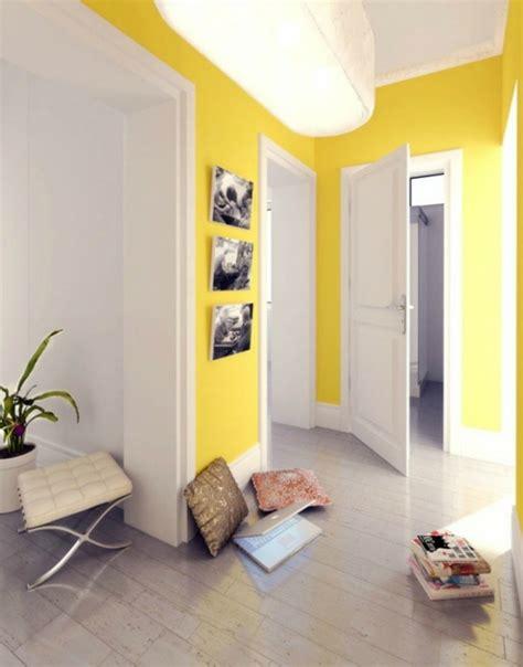 Flur Gestalten Gelb farbgestaltung flur ratschl 228 ge und beispiele in gelb