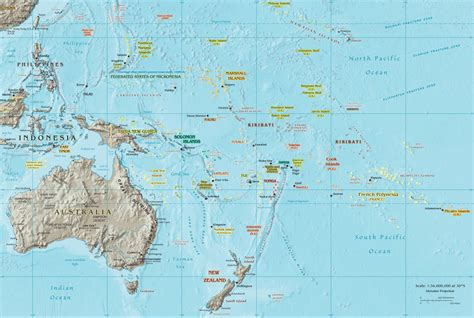 map of australia and islands oceania map oceania and australia map oceania atlas