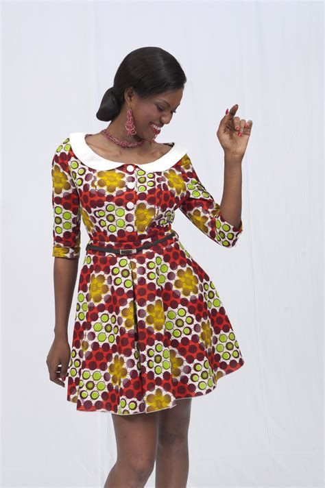 tenues africaines en tissu pagne uniwax by salimata bamba ankara dress styles pinterest