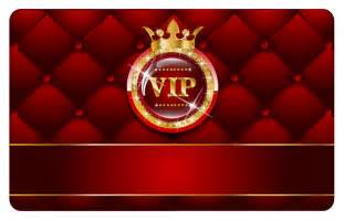 Vip card template vector 2 vector sources