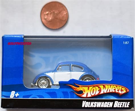 Hotwheels Wheels Volkswagen Beetle Blue 2 wheels volkswagen beetle 1 87 blue 0008949 6 50