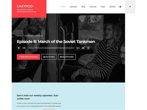themes podcast generator 5 best podcast wordpress themes 2018 athemes