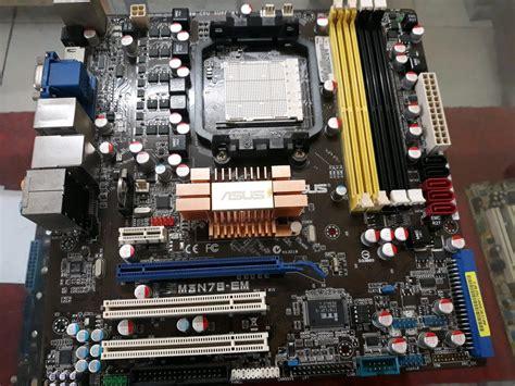 jual motherboard asus   mn em mantappp  lapak