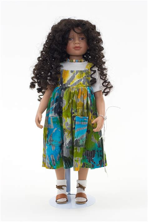 Nena Batik batik vinyl collectible doll