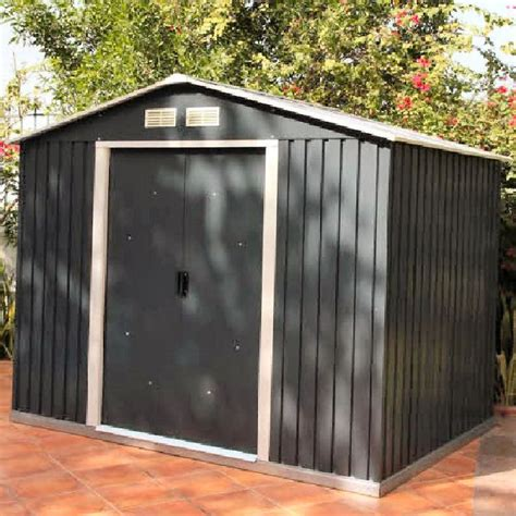Small Metal Sheds Uk by Emerald Parkdale 6ft X 4ft Metal Shed Anthracite Elbec