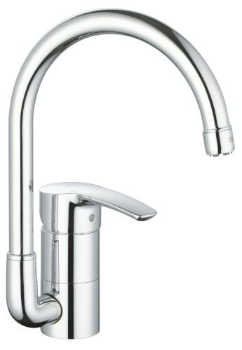 Discount Grohe Faucets by Grohe 33 986 001 Eurostyle Kitchen Faucet Starlight Chrome