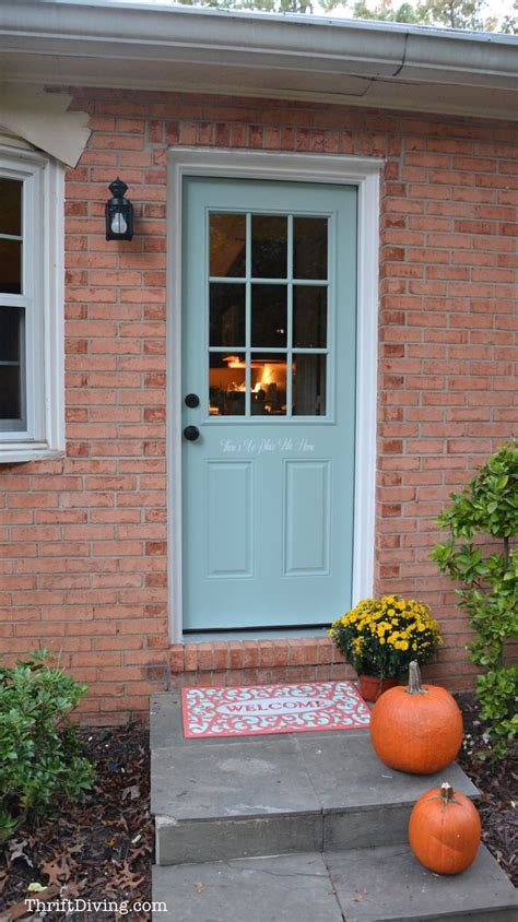 Replacing An Exterior Door Painting And Stenciling My Exterior Door Thrift Diving