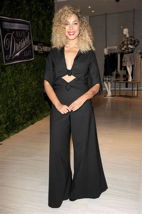 Vanity Fair Best Dressed List by Leona Lewis At Saks Fifth Avenue Vanity Fair 2016