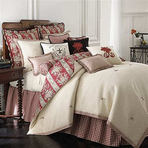 rose tree comforters tree montpellier 4 reversible comforter set bed bath beyond