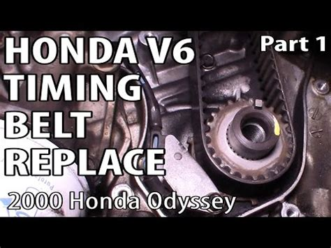 honda element timing belt honda accord odyssey element v6 timing belt replacement