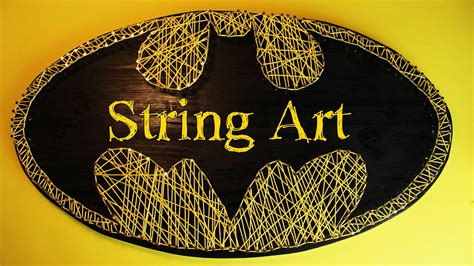 Batman String Pattern - fadenbild batman string