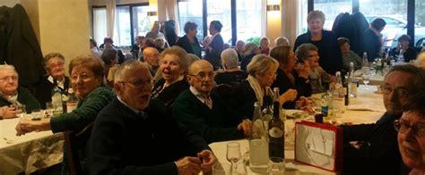 il gabbiano merate airuno una novantina di anziani a pranzo tre