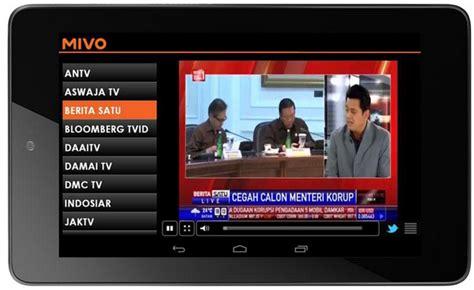Hp Android Tv aplikasi tv di hp android terbaik gratis