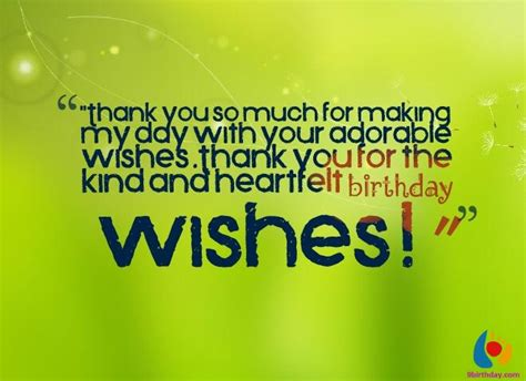 Thanking Happy Birthday Wishes 28 Beautiful Birthday Thank You Wishes And Messages With