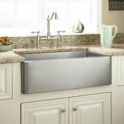 stainless farmhouse kitchen sinks 27 quot hazelton stainless steel farmhouse sink farmhouse