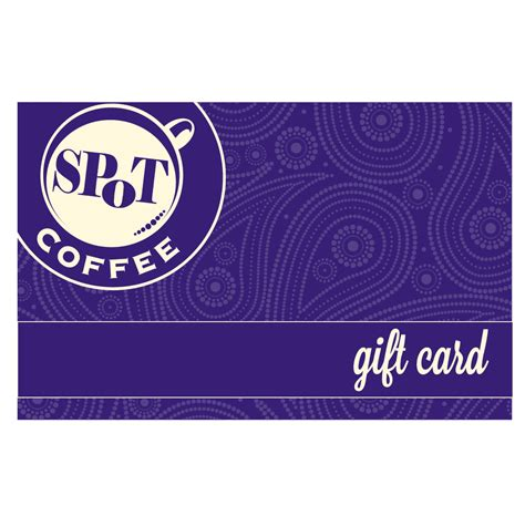 Gift Card - $25 - SPoT Coffee $25 Gift Card